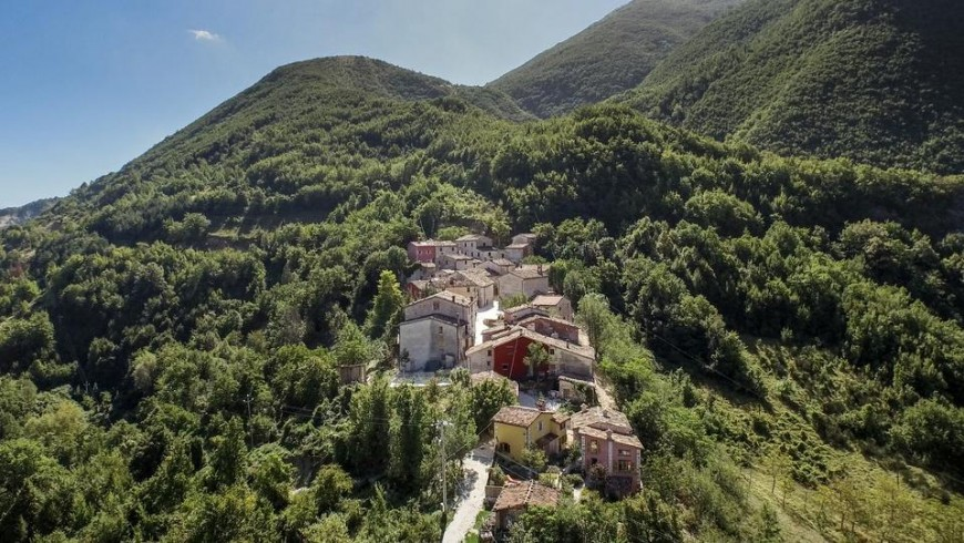 Under the Mount Nerone, in a small village