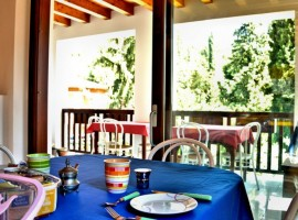 Breakfast table, B&B Casa Francesca,Lake Garda