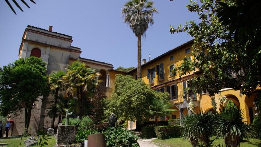 Vittoriale degli Italiani, Lake Garda, photo via wikimedia