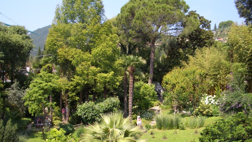 Botanic Garden Andrèe Heller, Lake Garda, photo via wikimedia