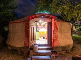 Valentine's Day in a yurt