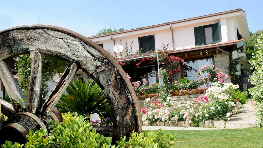 B&B Il Giardino di Valentina, perfect starting point for your slow mobility