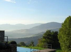 Casa Calènc's swimming pool, Romagna, green tourist facilities