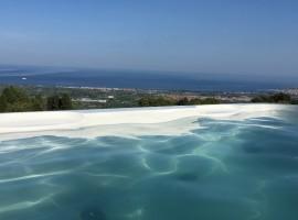 Swimming pool, BagolArea ecofarm, green tourist facilities