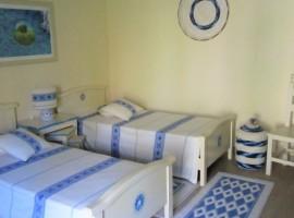 Bedroom, Casa Gaia, Sardinia, green accommodations