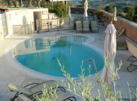 Swimming pool, Casa Oliva, old villages