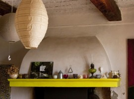 Inside decor of the Maison, green tourist facilites