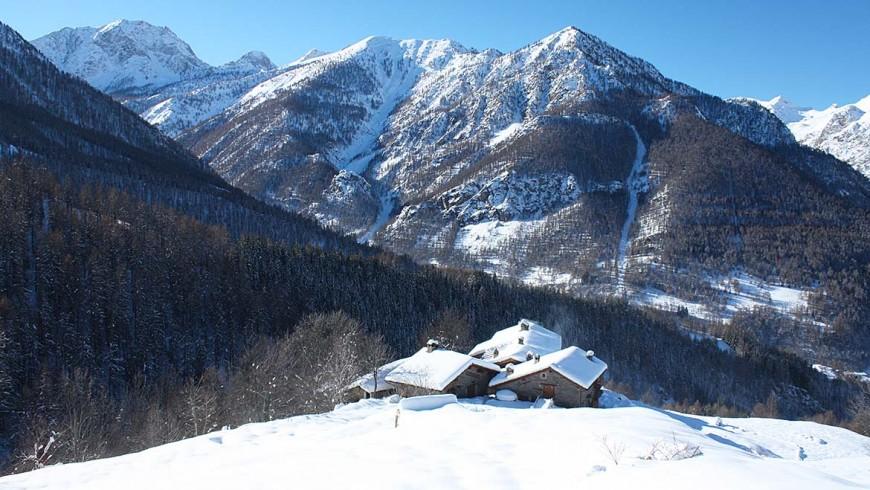 Sagna Rotonda, Valle Maira, Piemonte, old villages