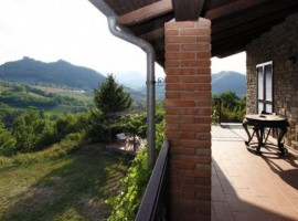 Valtidone Verde's terrace, green accommodations