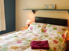 Bedroom, Cluain Cottage, green accommodations