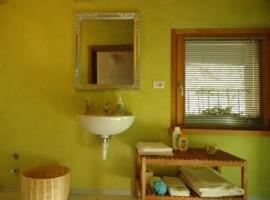 Bathroom B&b Via Paradiso, green vacation