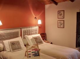 Double bedroom, La Prugnola, green tourist facilities