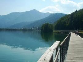 The wonderful Caldonazzo Lake, just a stone's throw from the B&B