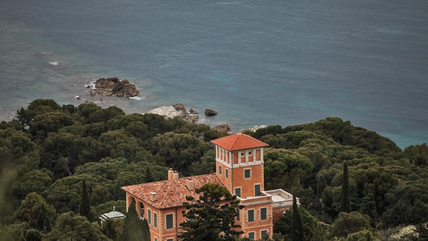 Mortola Tower, luxury accommodation in Liguria