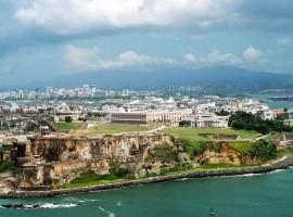 Viejo San Juan, Puerto Rico, photo via wikimedia commons
