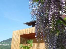 Casa sul Lago, a eco-friendly house in Caldonazzo