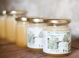 The delicious honey of the Malga, produced by the owners