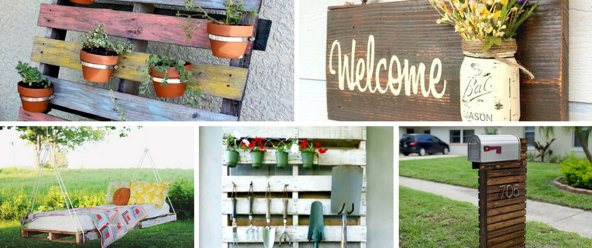 10 Diy Projects With Old Pallets For Your Garden Balcony And