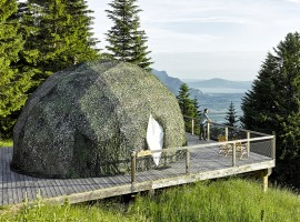 Whitepod: Innovative domes in the heart of the Alps