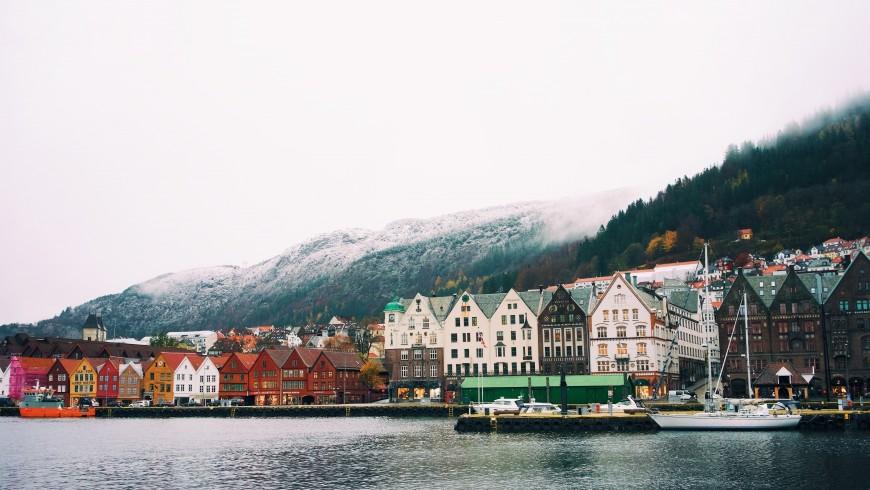 Bergen, Norway, photo by Ignacio Ceballos via Unsplash