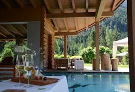 High-altitude wellness area in Trentino