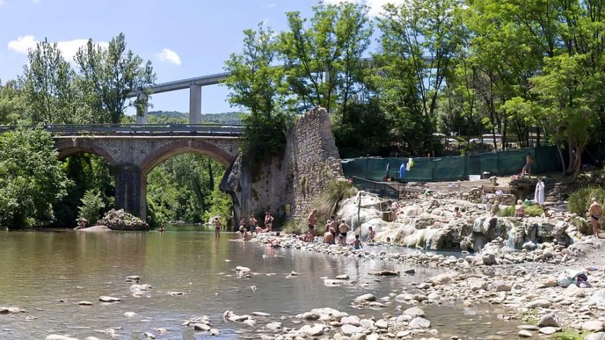 Petriolo hot springs, Maremma, Tuscany