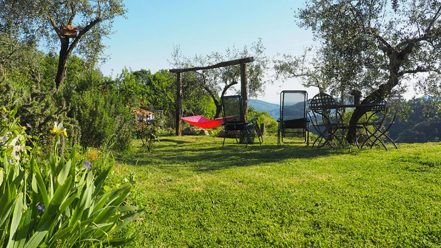 Farm holiday in Ligurian countryside