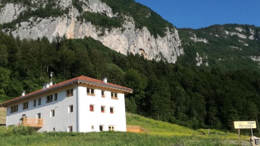 Farm holiday in Trentino, Italy