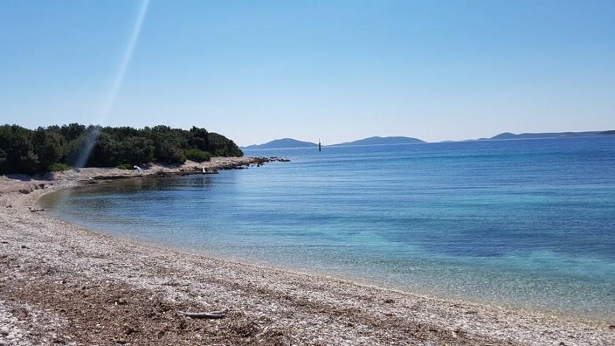 The sea in Silba island