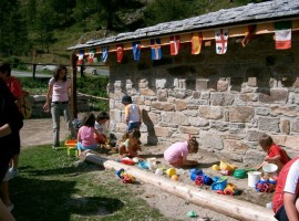 Playground for children at Piccolo Paradiso