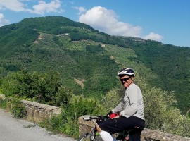 Itinerary in MTB among the hills - Agrilunassa