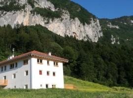 organic farm Maso Pertener, in Comano Terme