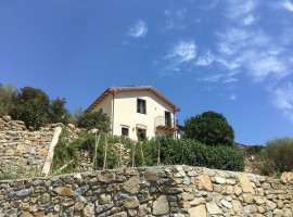 Agrilunassa, in Bordighera hills, Liguria (Italy)