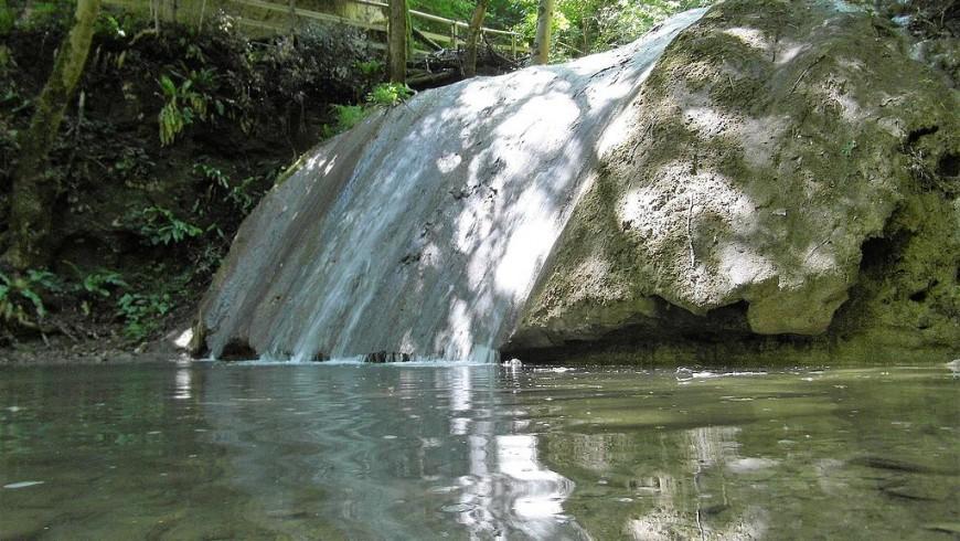 Molina waterfalls, Lessinia, Italy