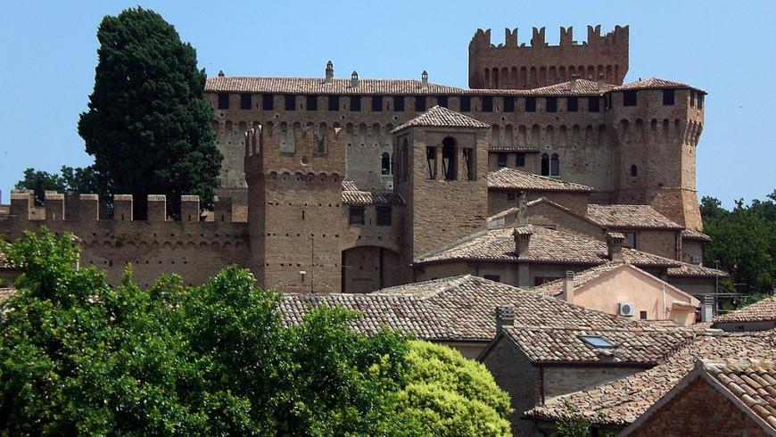 Gradara, an Italian village in Romagna