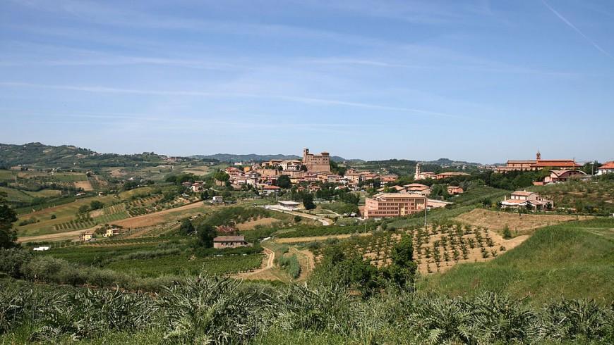 Longiano, in the municipality of Sogliano al Rubicone, where fossa cheese is produced.