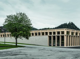MPreis supermarket, Constructive Alps