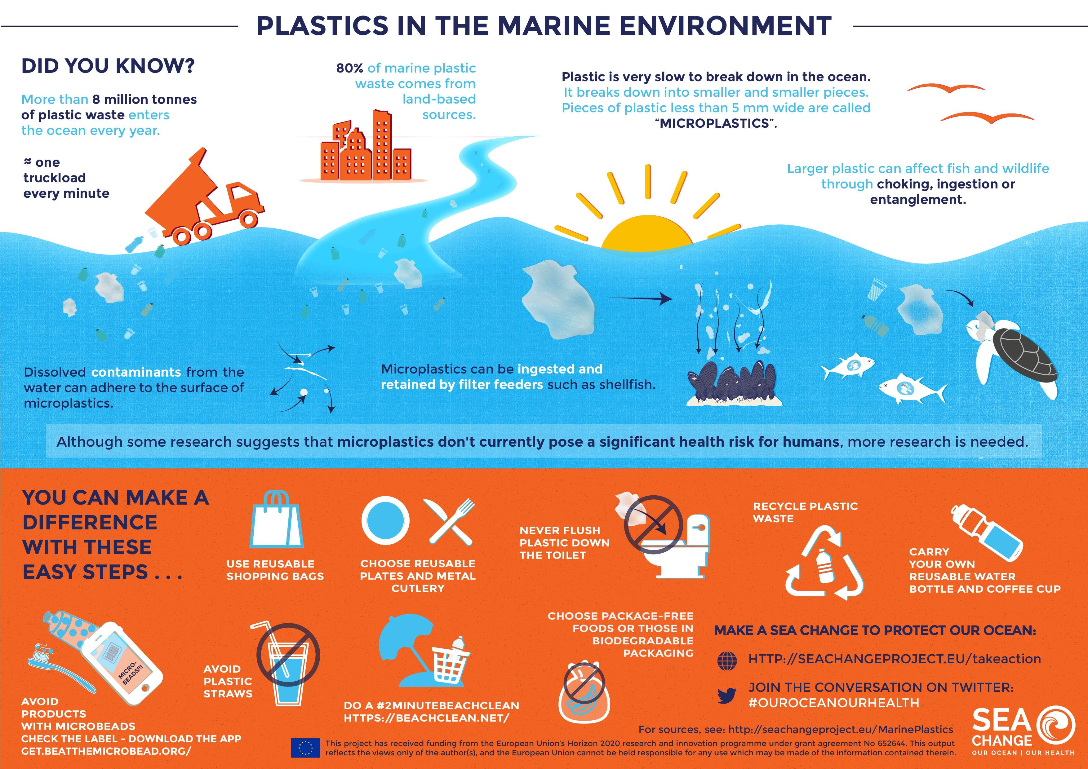 Plastics in the marine environment, oceans