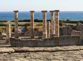 Roman ruin in Tarifa, Cádiz, Spain