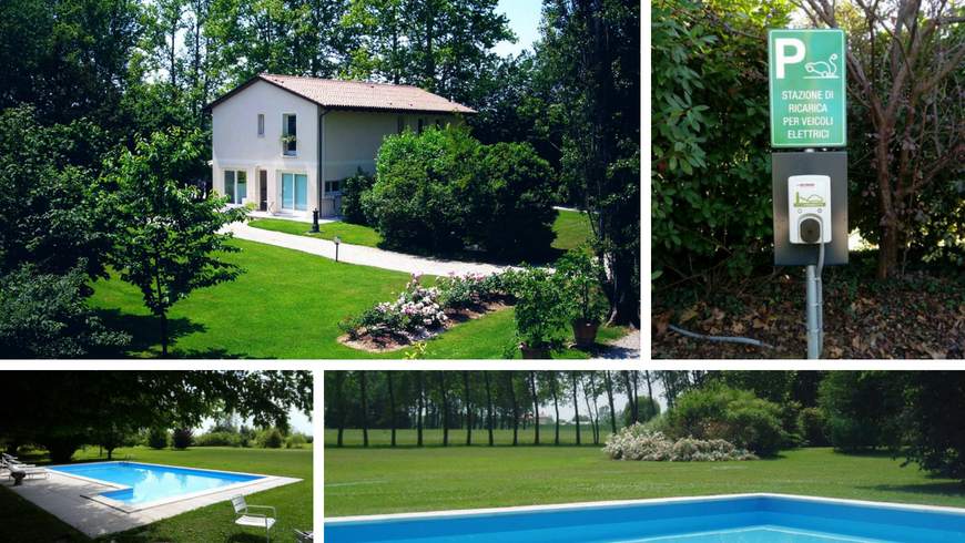 Solo Qui, an eco-friendly B&B surrounded by nature, in the Venetian Countryside
