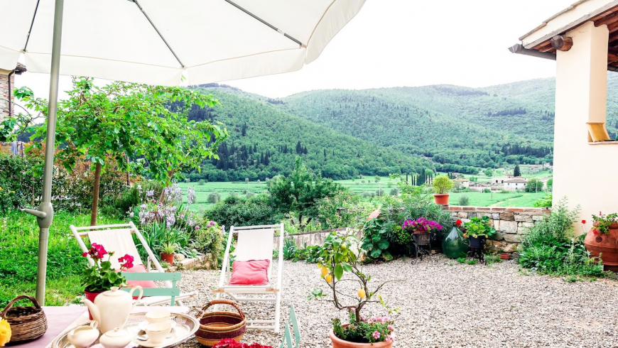 Farm holiday in Tuscany