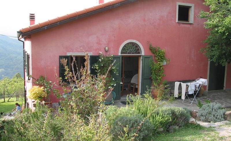 A farm in the organic Vara Valley, near Cinque Terre