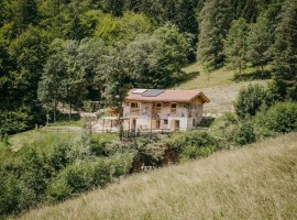 An eco-chalet in Trentino