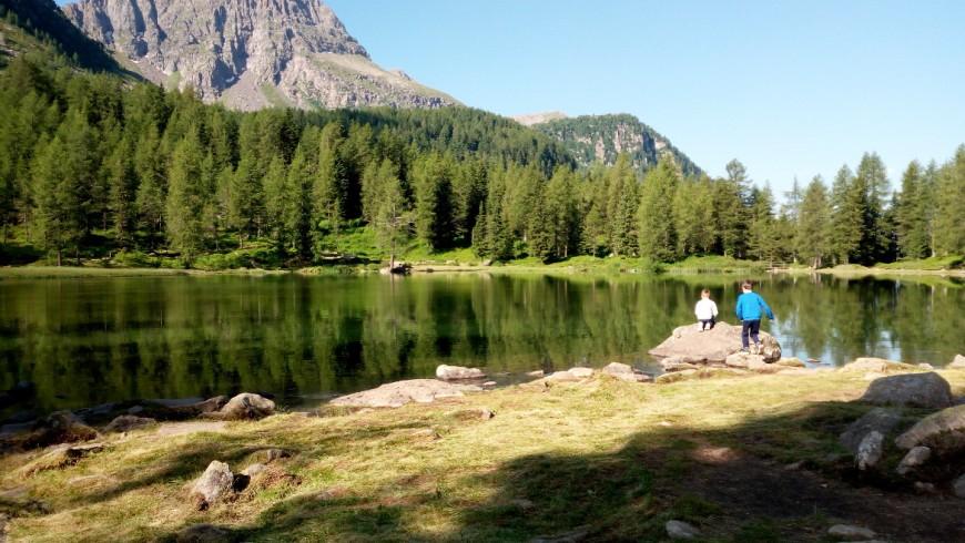 lake of Passo San Pellegrino