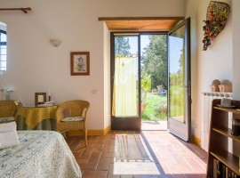 eco-friendly accommodation at Ancora del Chianti