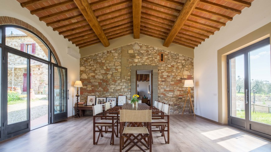 Ancora del Chianti, the perfect place to grow following an eco-friendly lifestyle