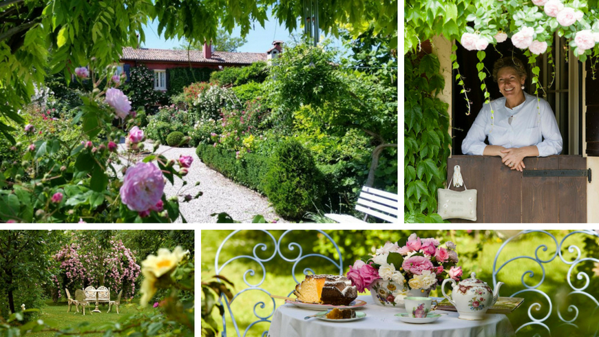 Luxury B&B Ca' delle Rose with a fairylike atmosphere in the countryside of Veneto