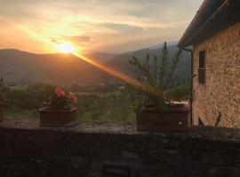 Sunset at La Fontaccia