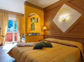 Cozy and comfortable rooms at the Hotel La Serenella