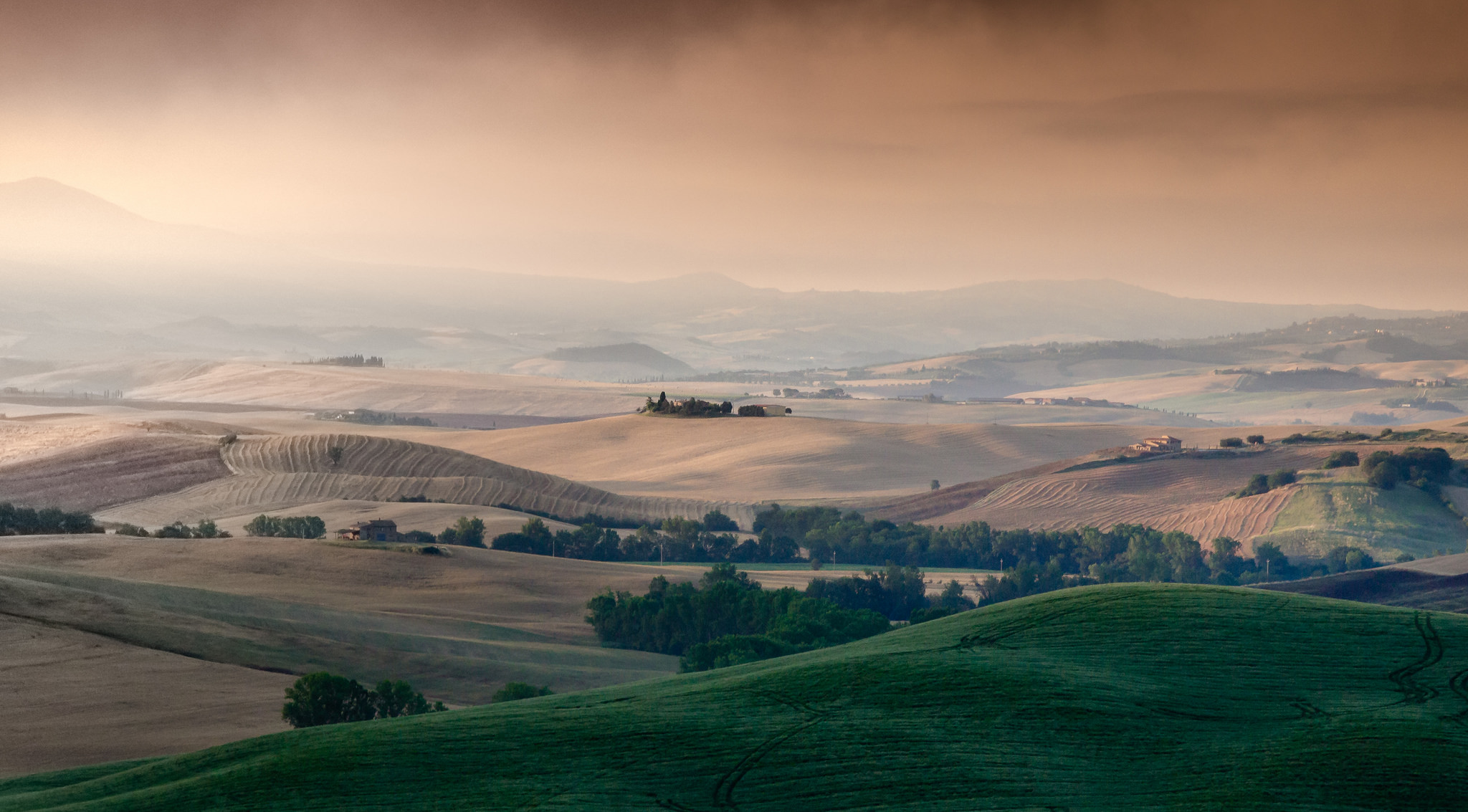 Val d' Orcia in Tuscany